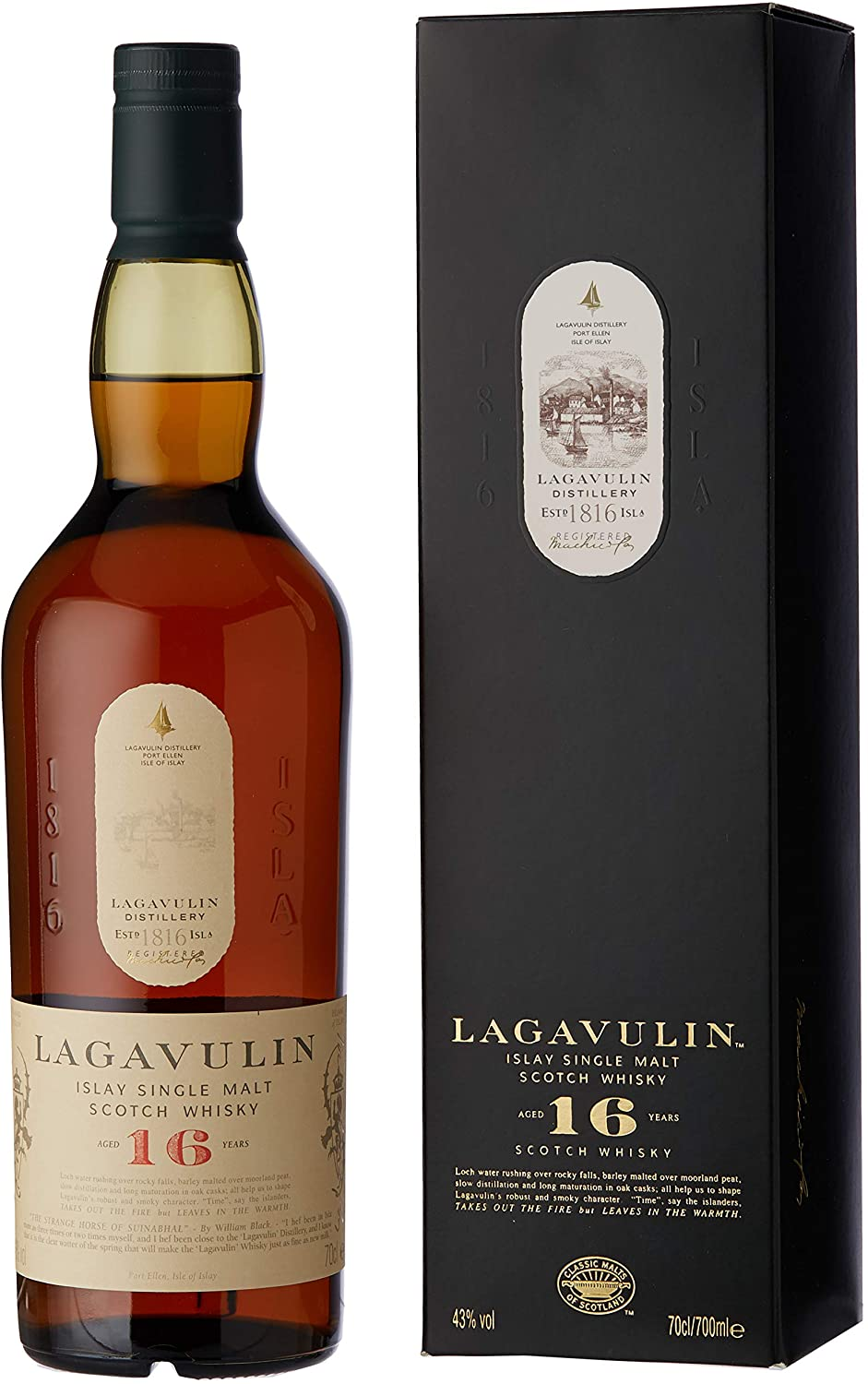 Lagavulin malt 16 years old | Интернет-магазин Alcomag.kz (г. Алматы, Казахстан)