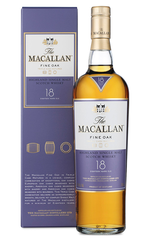 Macallan Fine Oak 18 YO | Интернет-магазин Alcomag.kz (г. Алматы, Казахстан)