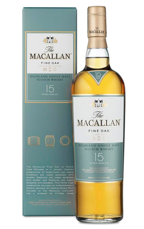 Macallan Fine Oak 15 YO | Интернет-магазин Alcomag.kz (г. Алматы, Казахстан)